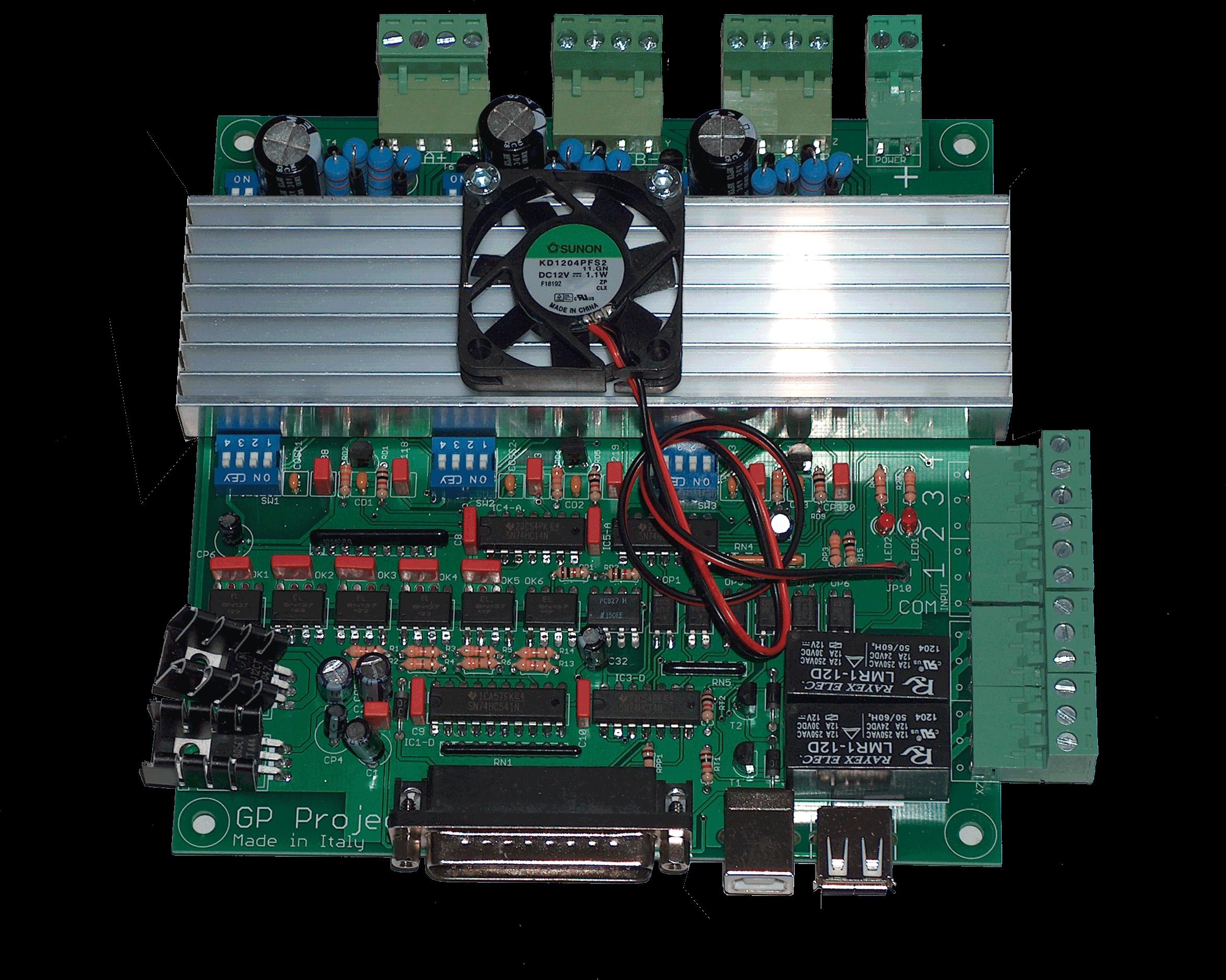 Scheda elettronica CNC GP protoCNC