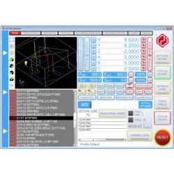 Software UCCNC per pantografo CNC-licenza